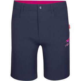 TROLLKIDS Haugesund Shorts Kids navy/magenta